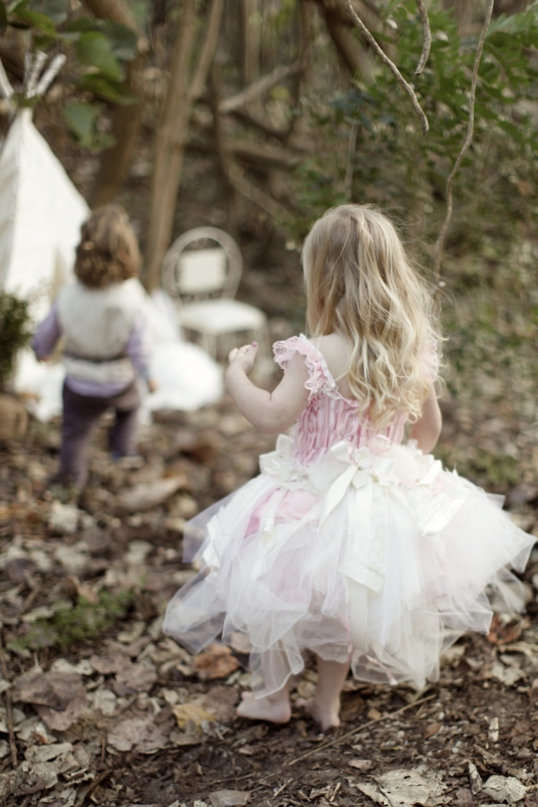 Couture Flower girl Dresses Vintage Pageboy Vests - Vestpa & Vicky-Lee, tulle flowergirl