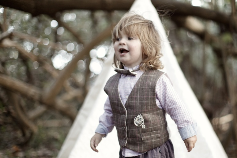Vintage Pageboy Vests, wedding tipi,
