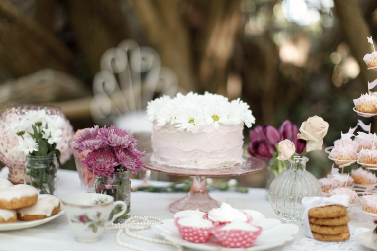 Garden Wedding Dessert Table