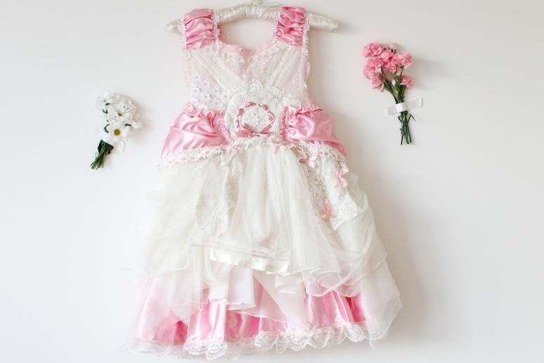 Couture Flowergirl Dress Vicky-Lee