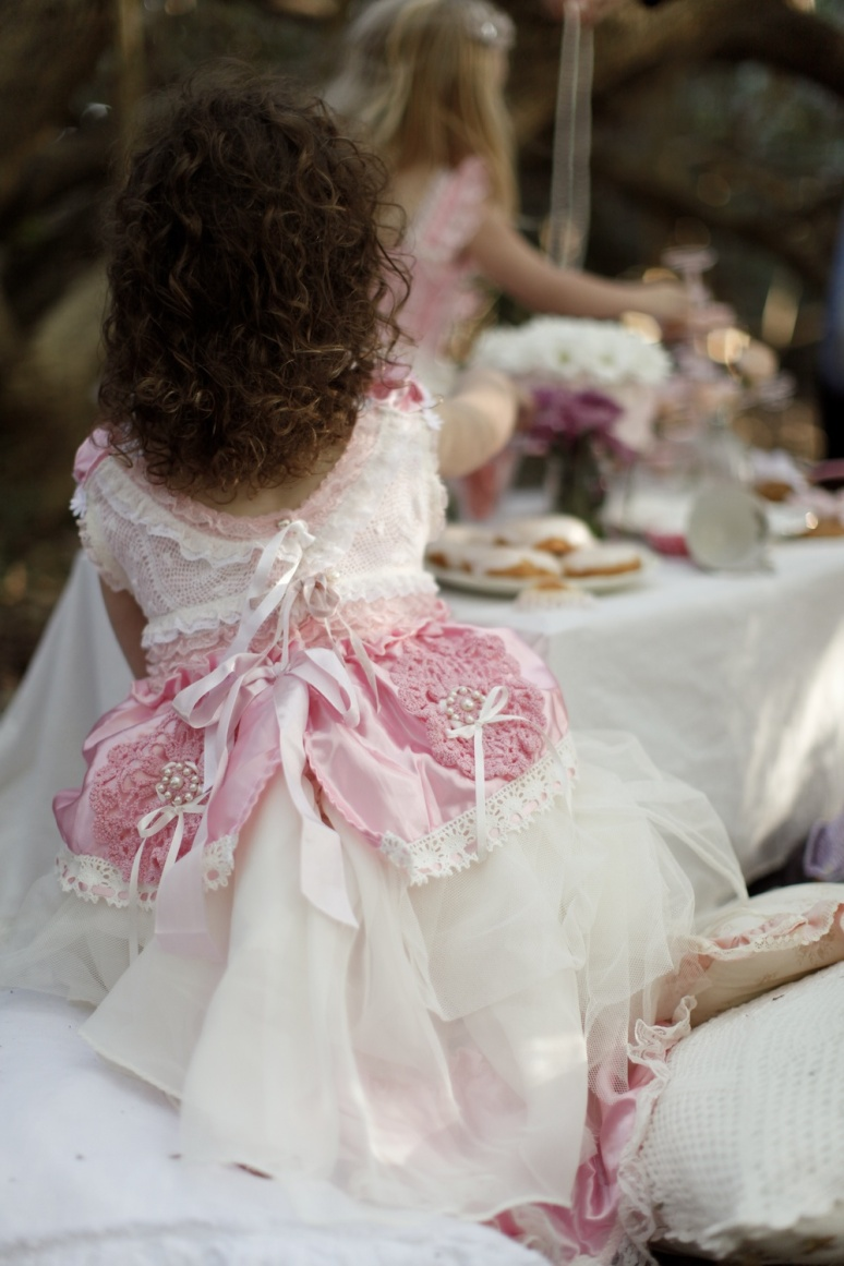 Couture Flowergirl Dress