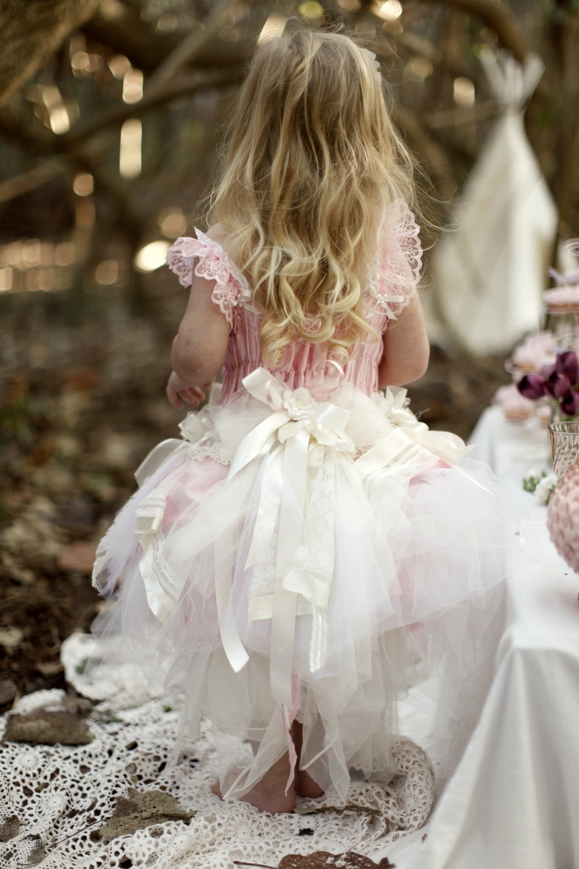 Vest-pa & Vicky-Lee | Couture Flowergirl Dresses. Vintage ...